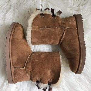 UGG Bailey Bow Boot in Chestnut